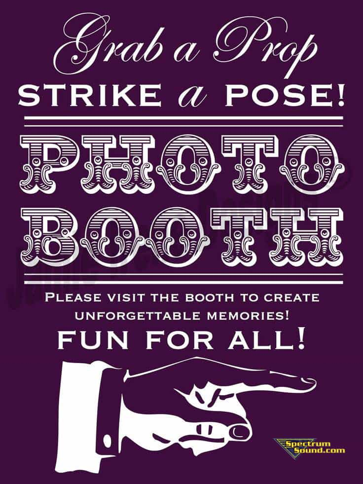 EVANSVILLE Photo Booth Rental