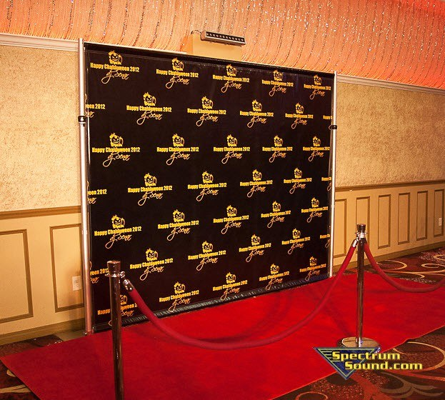 Step And Repeat Photography From Spectrum Sound For Your